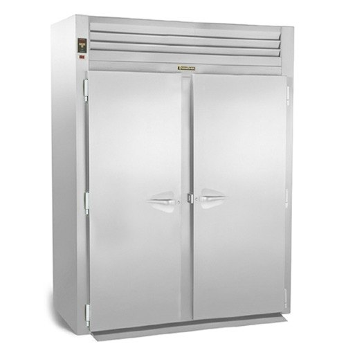 """Traulsen RIH232L-FHS Stainless Steel 74.3 Cu. Ft. Two Section Roll-In Heated Holding Cabinet for 66"""" Pan Racks - Specification L at Sears.com"""