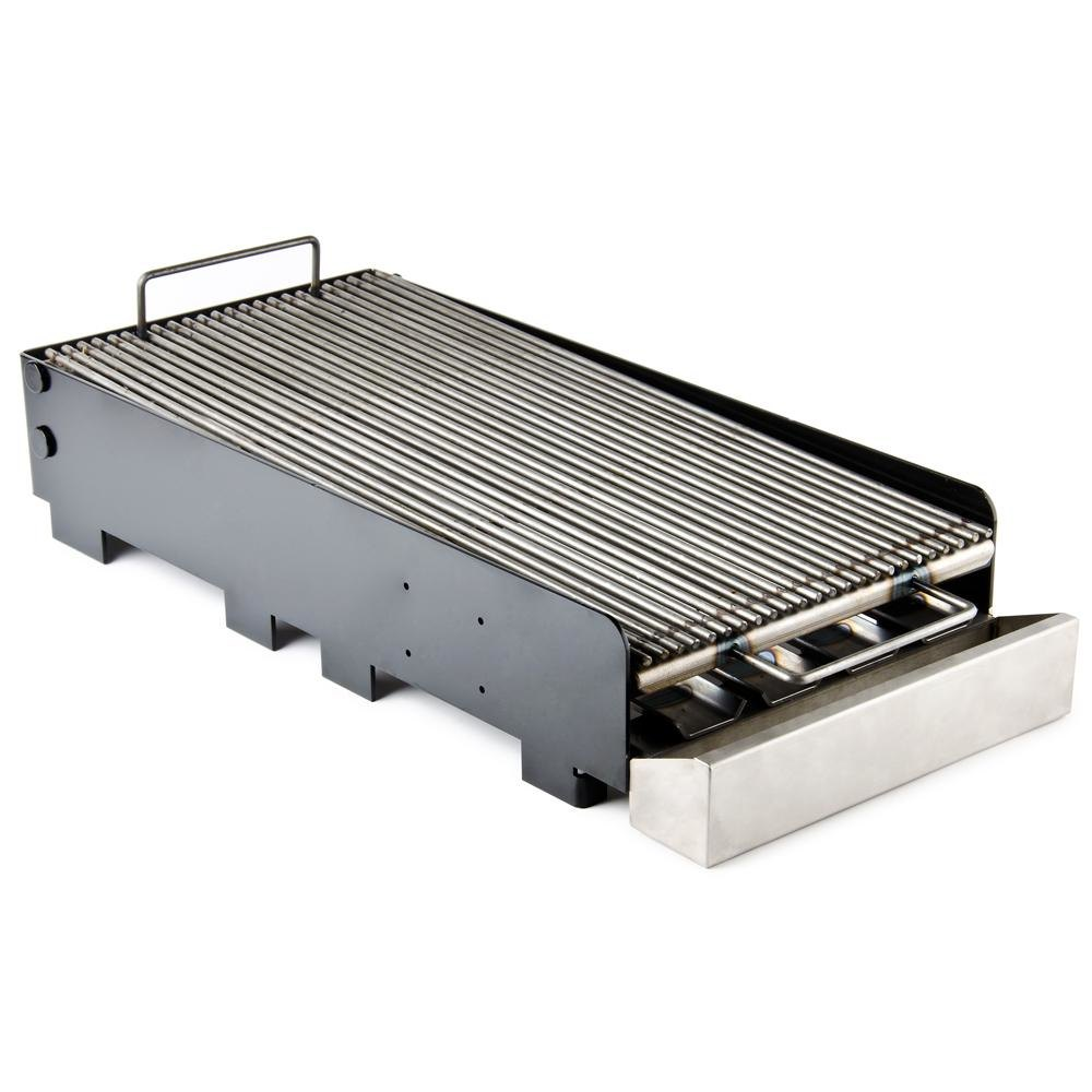 "FMP 133-1207 11"" x 24"" x 5"" Add-On Charbroiler"