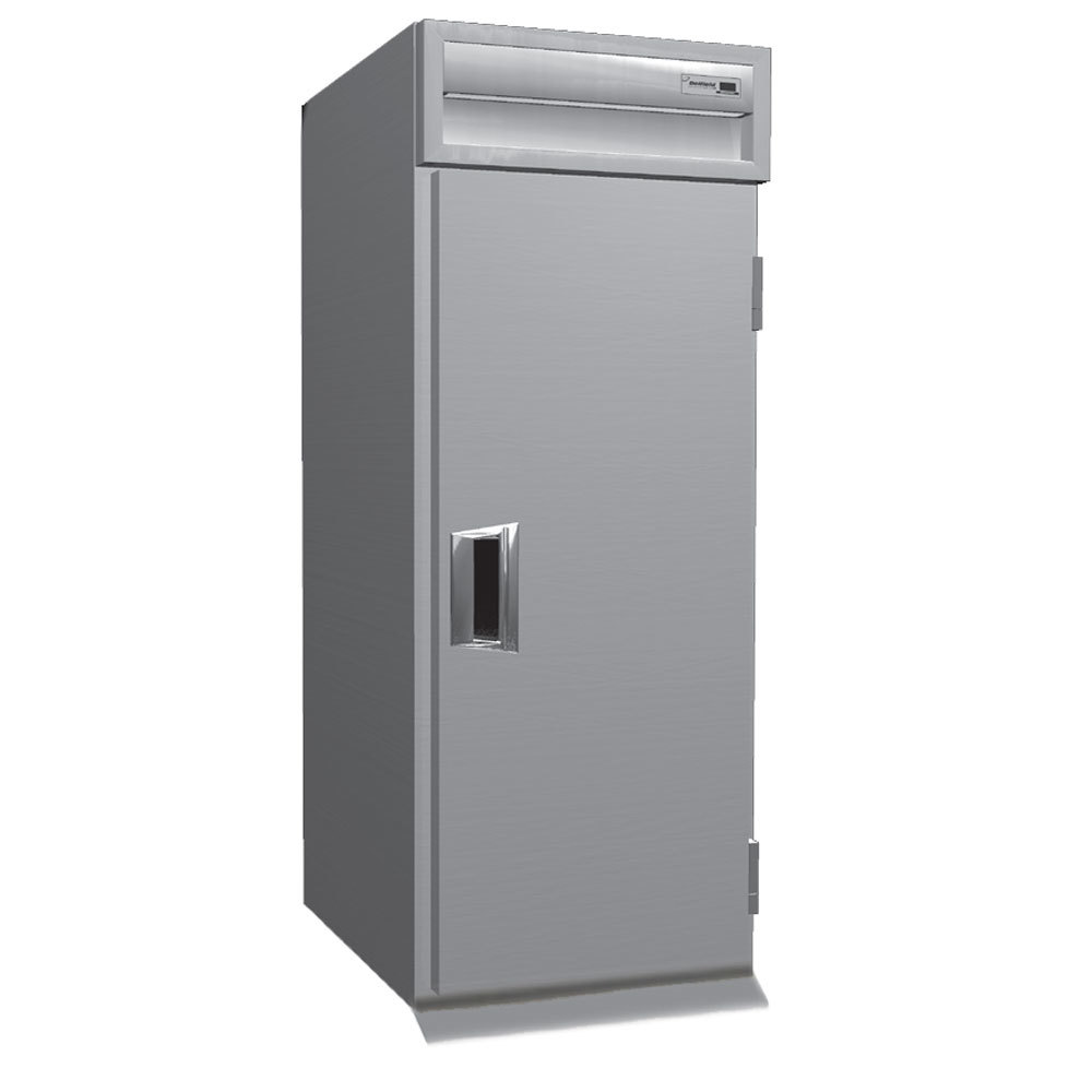 Delfield SAHRT1-S 38.58 Cu. Ft. One Section Solid Door Roll Thru Heated Holding Cabinet - Specification Line