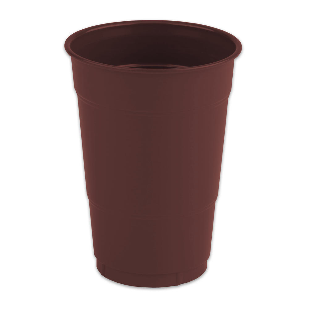 16 oz. Chocolate Brown Plastic Cup 240/Case