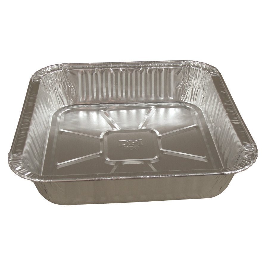 9 inch Square Foil Cake Pan 500/Case