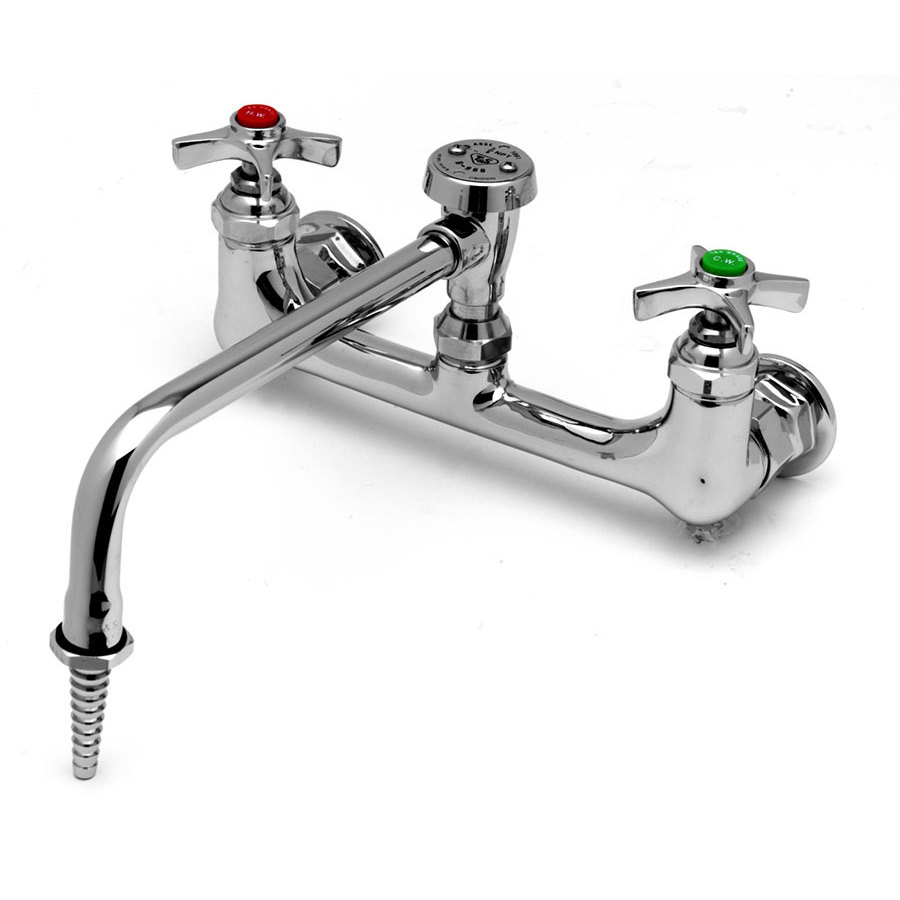 T&S BL-5775-08 Wall Mount Laboratory Faucet with 8 3/4\