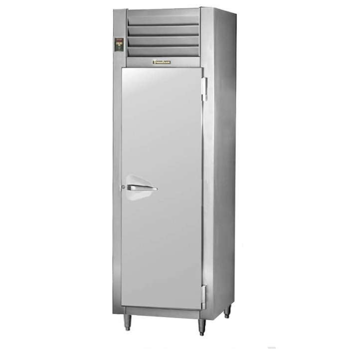 Traulsen Stainless Steel RHF132W-FHS 24.8 Cu. Ft. Solid Door Single Section Reach In Heated Holding Cabinet - Specification Line