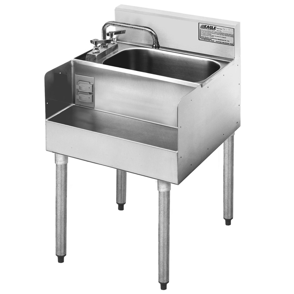 Eagle Sinks : Eagle Group MA7-18 Add On Step Down Sink for 1800 Series Underbar ...