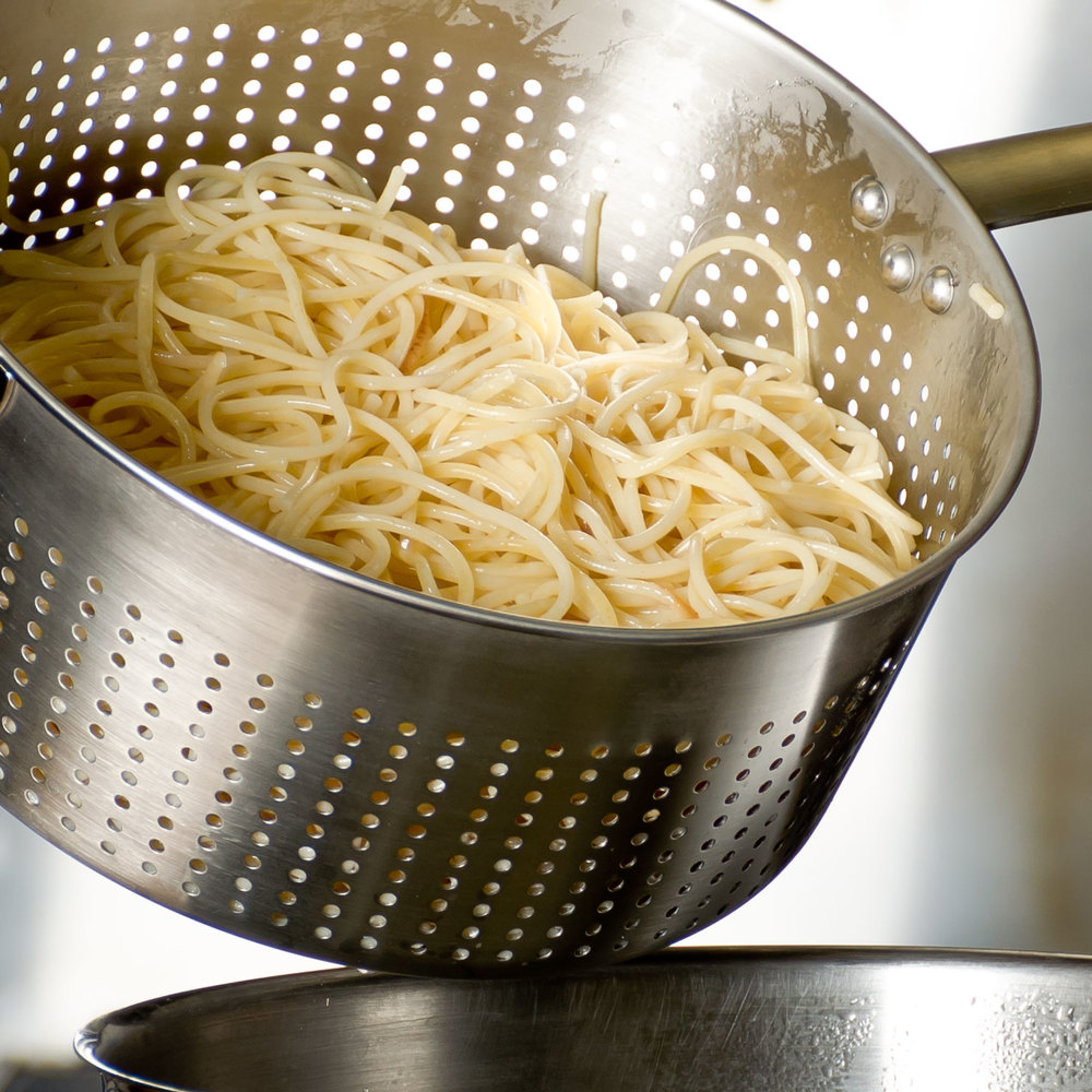 Vollrath 47960 3 Qt Stainless Steel Spaghetti Cooker Strainer