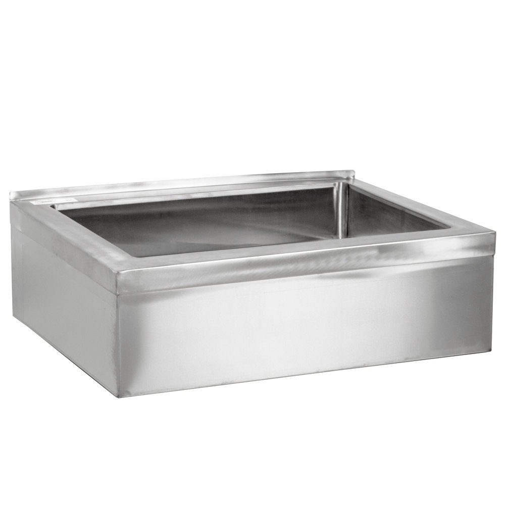 Janitorial Sink : ... Stainless Steel One Compartment Floor Mop Sink - 20