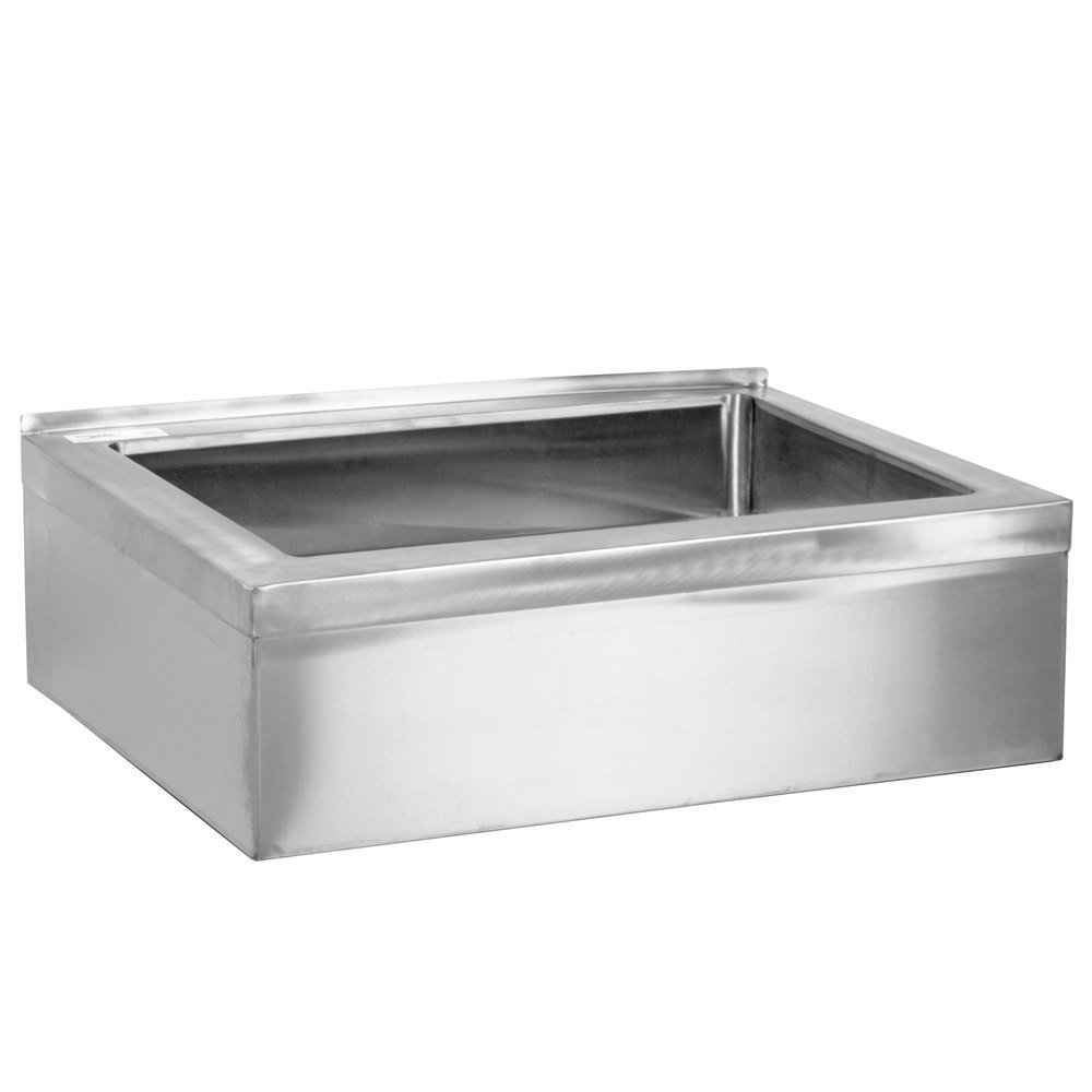 Mop Sink Stainless Steel : Regency 25