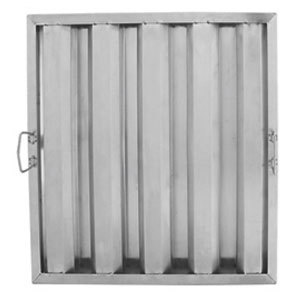 20 inchH x 20 inchW x 1 1/2 inch Thick Stainless Steel Hood Filter