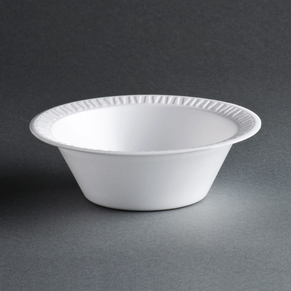 Dart 12BWWC 12 oz. White Foam Bowl 1000/Case