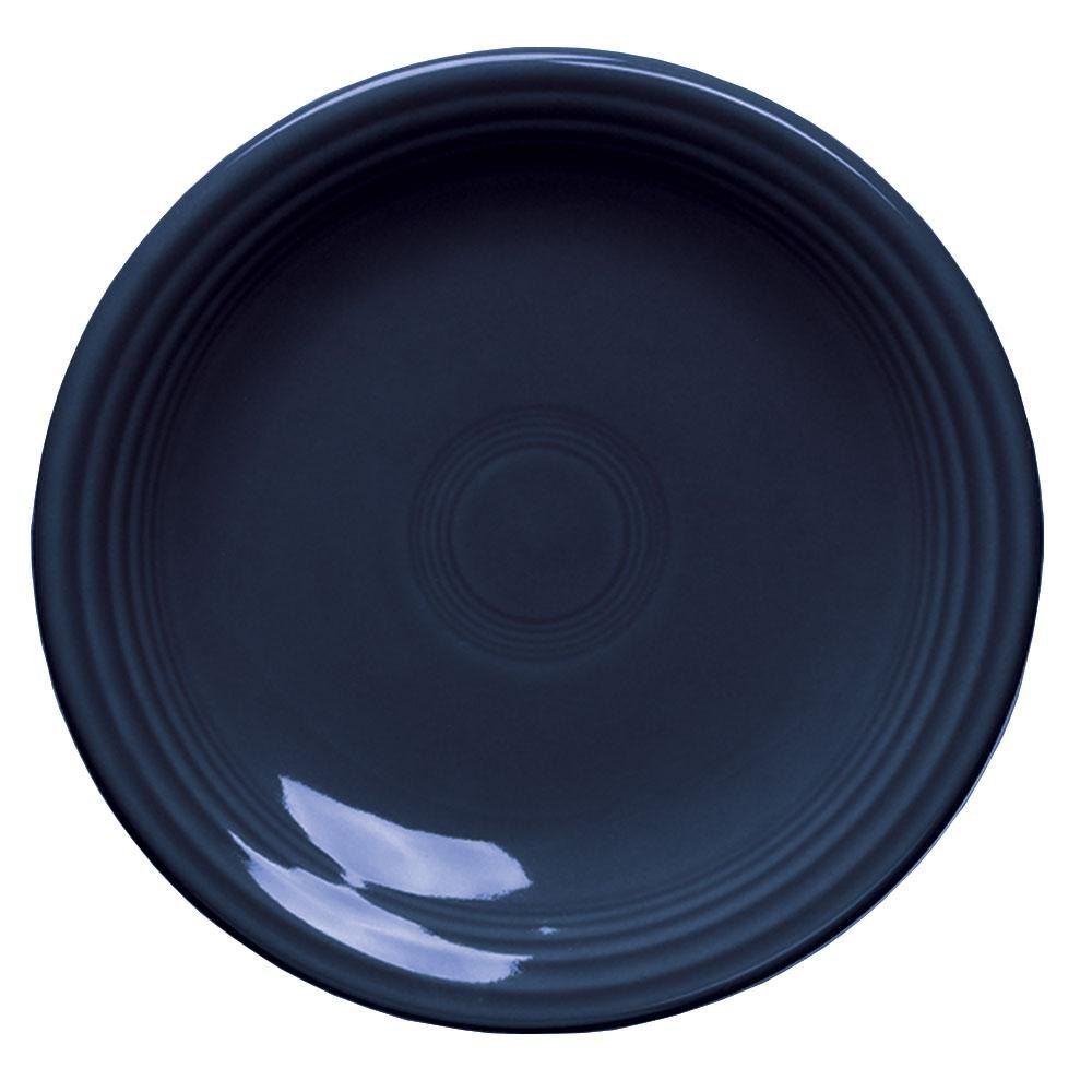 Homer Laughlin 464105 Fiesta Cobalt Blue 7 1/4 inch Salad Plate - 12 / Case