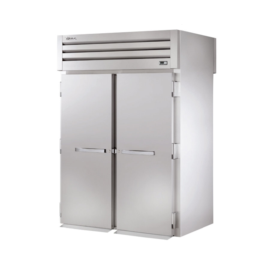 "True STG2RRT-2S-2S Specification Series 68"" Two Section Roll Through Refrigerator with Solid Front and Rear Doors - 75 Cu. Ft."