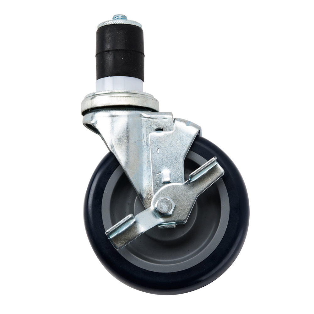 regency 5 u0026quot  work table and equipment stand caster with brake