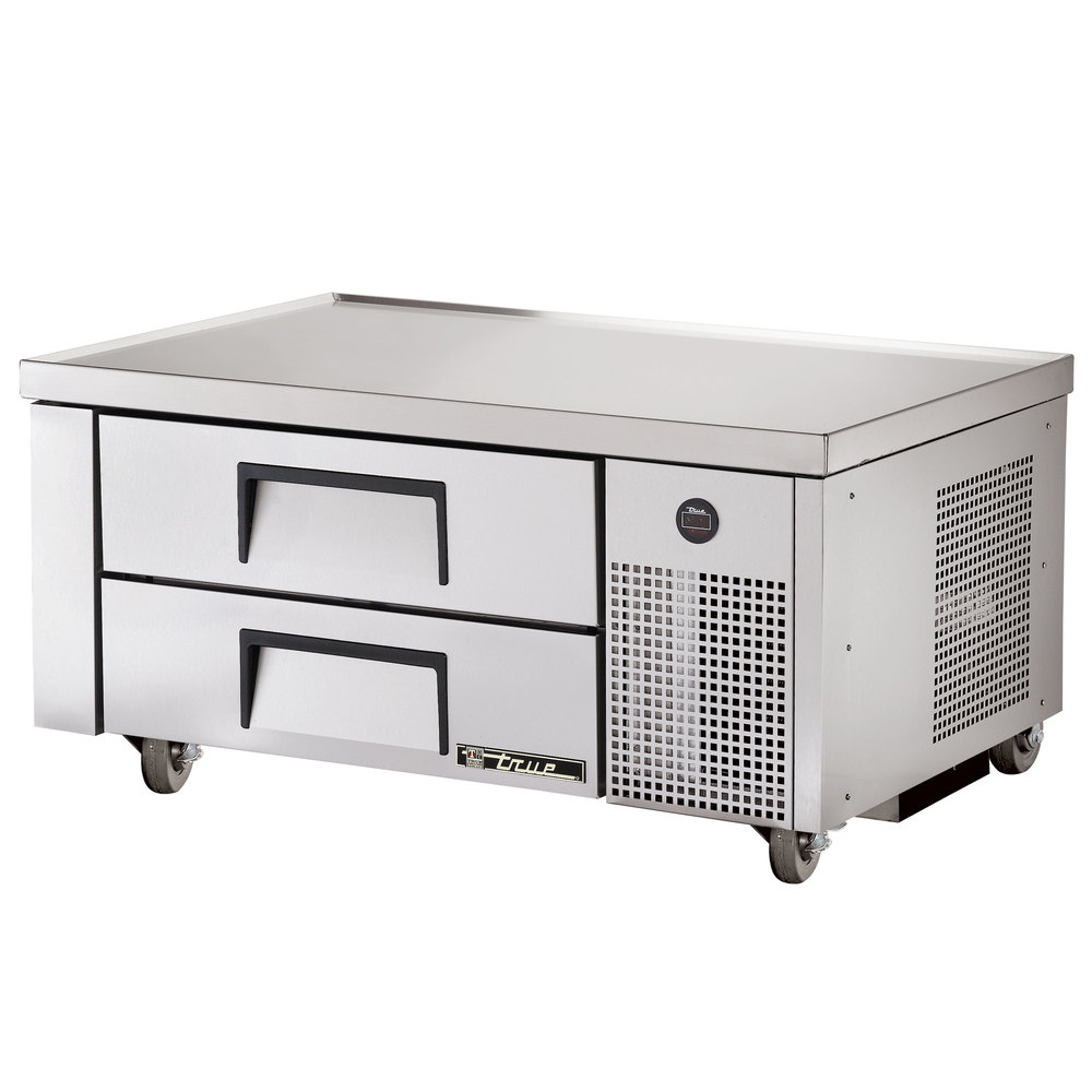 "True TRCB-48 48"" Two Drawer Refrigerated Chef Base"