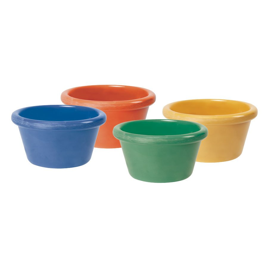 GET RM-400-MIX 4 oz. Mardi Gras Ramekin 48/Case - Assorted Colors