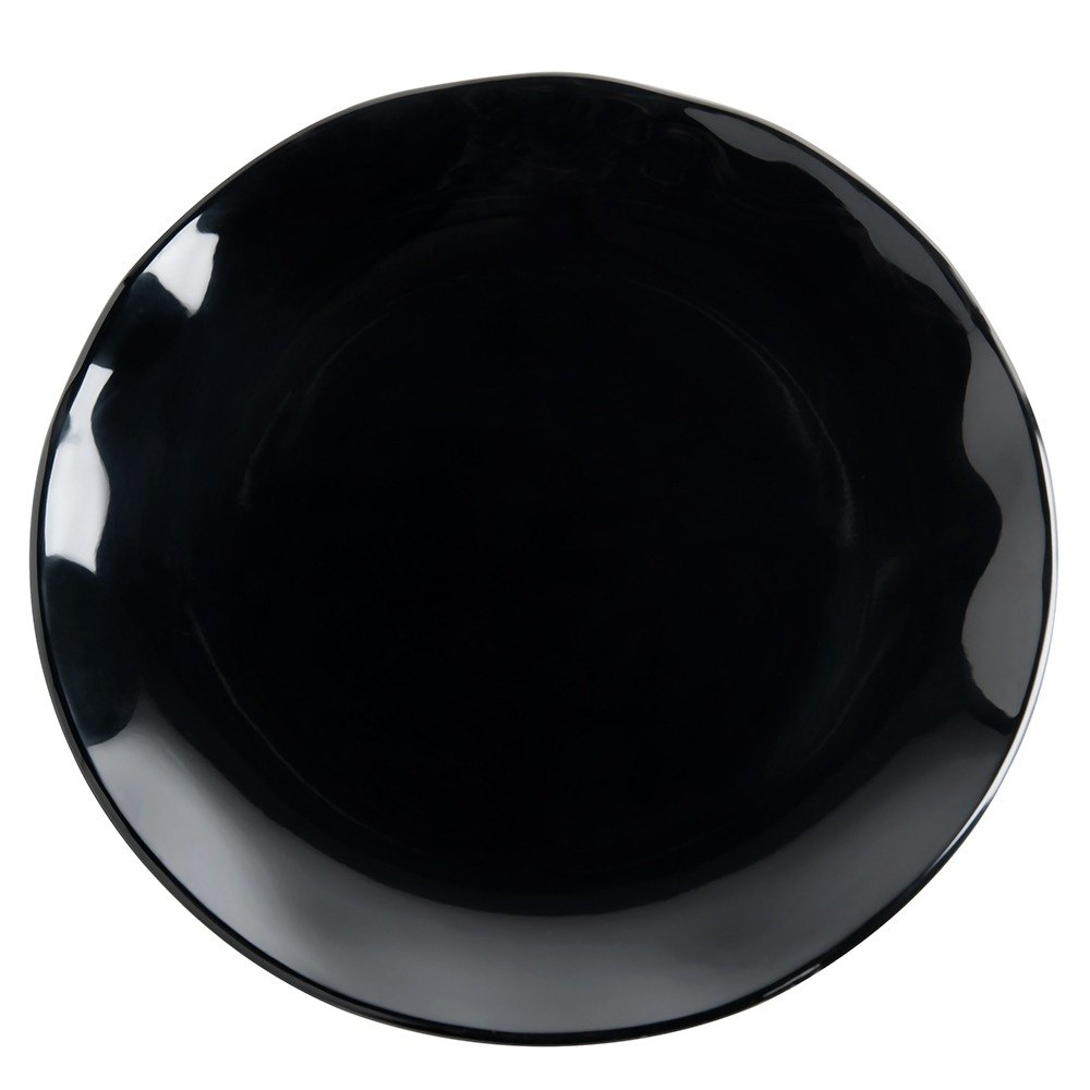 Black Pearl Two-Tone Plate - 6/Pack