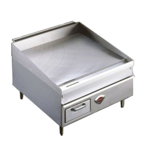"Wells 3036G 36"" x 30"" Stainless Steel Gas Countertop Griddle - 75000 BTU"