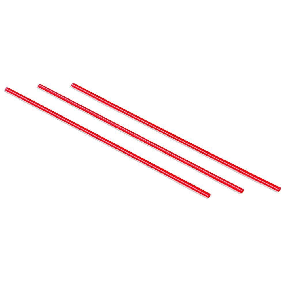 Choice 5 inch Red and White Coffee Stirrer 10,000 / Case