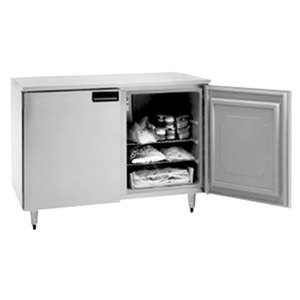 "Delfield UC4148 48"" Double Door Undercounter Freezer - 10.8 Cu. Ft."
