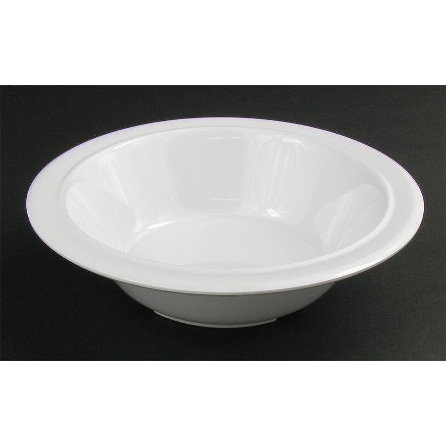 Nustone White Melamine Soup and Cereal Bowl 12 oz. - 12 / Pack