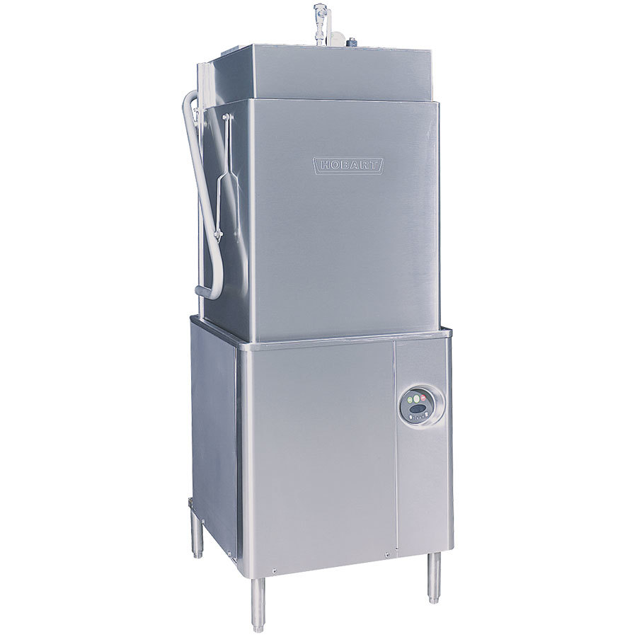Hobart AM15T-2 Select Tall High Temperature / Low Temperature Dishwasher with Booster Heater 208/240V