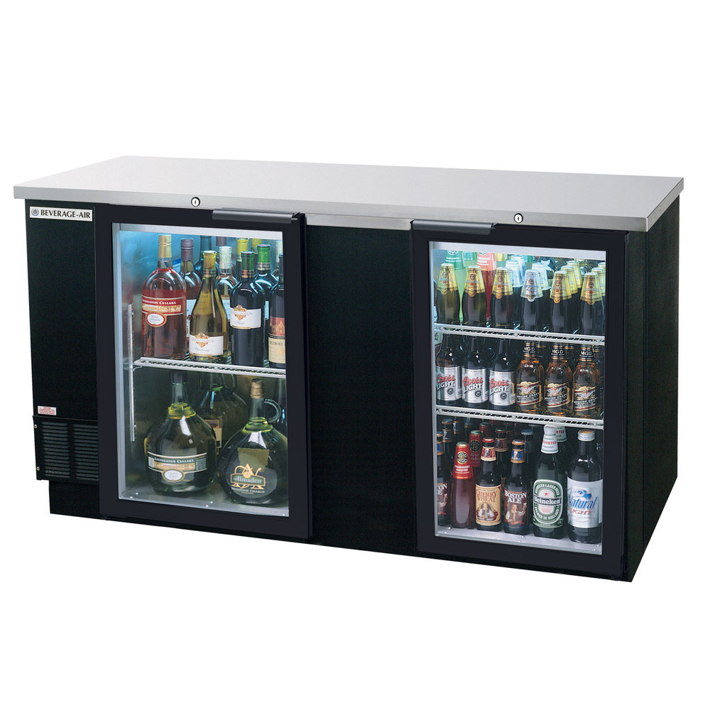 Beverage Air Bb68hc 1 G B 69 Quot Back Bar Refrigerator With 2