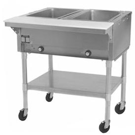Eagle Group 240 Volts Eagle Group PDHT2 Portable Electric Hot Food Table - 2 Well - Open Well at Sears.com