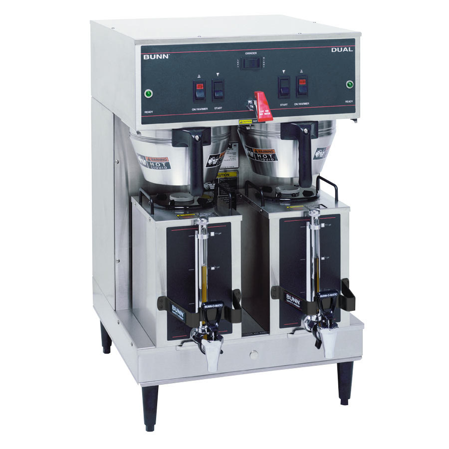 Bunn Dual Brewer with Portable Servers - 1 Setting 120/208V (Bunn 20900.0008)