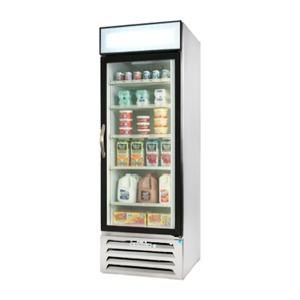 Beverage Air MMR23-1-W-LED White Marketmax Refrigerated Glass Door Merchandiser with LED Lighting- 23 Cu. Ft. at Sears.com
