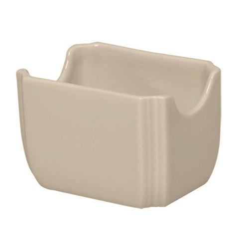 Homer Laughlin 479330 Fiesta Ivory 3 1/2 inch x 2 3/8 inch Sugar Caddy - 12 / Case