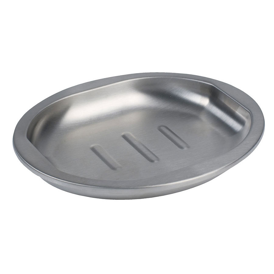 Bathroom Collections BS-PR3R Premier Stainless Steel Hotel Soap Dish