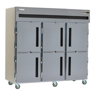 Delfield Ssf3 Sh Stainless Steel 79 Cu Ft Three Section