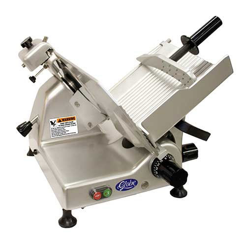 Globe G14 14 inch Manual Gravity Feed Slicer - 1/2 hp