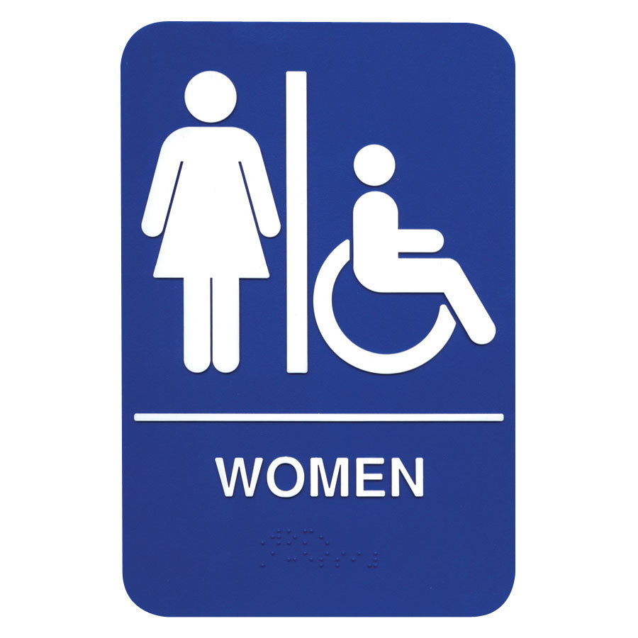 Braille Women Sign