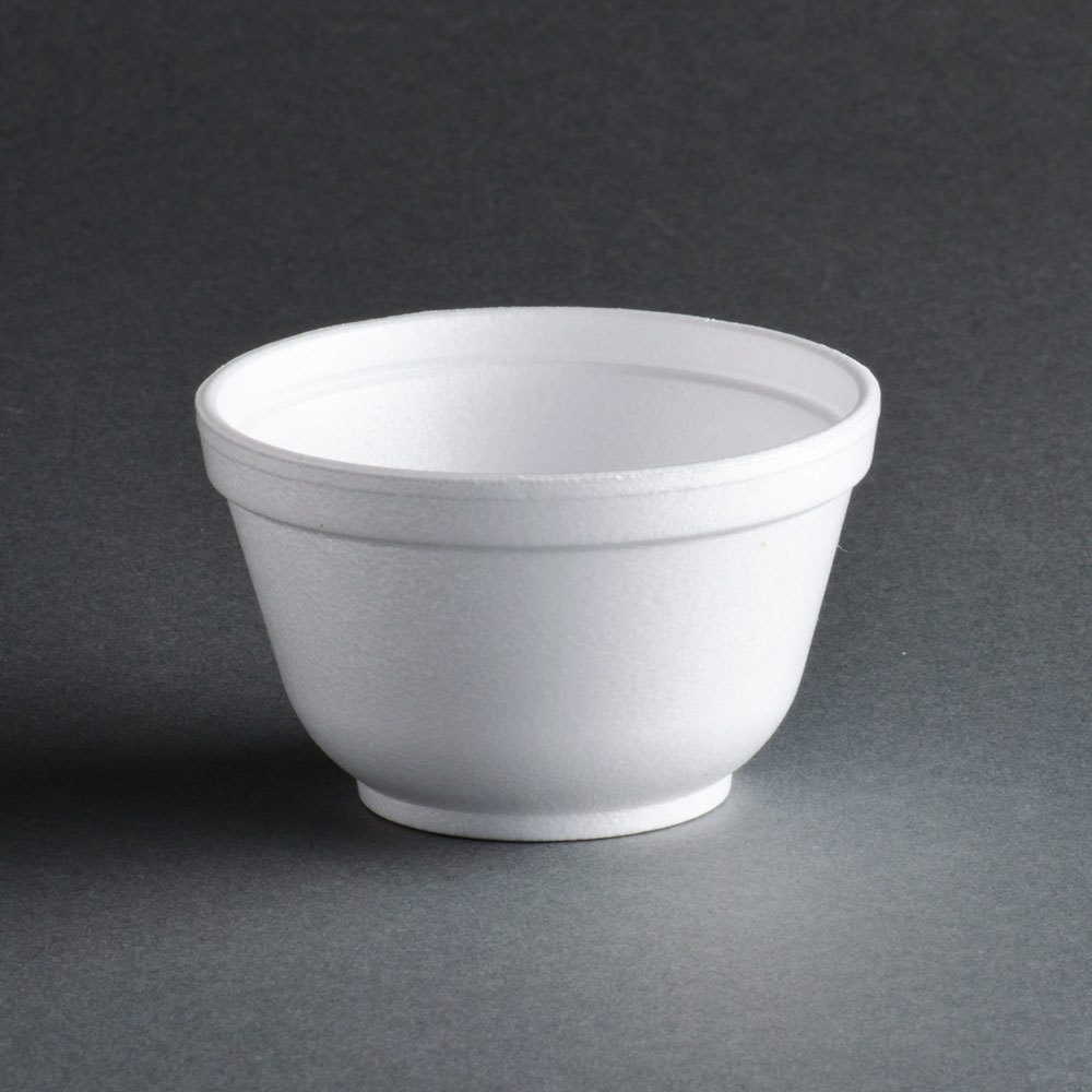 Dart 6B12 6 oz. Insulated White Customizable Foam Bowl - 1000 / Case at Sears.com