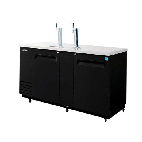 "Turbo Air Refrigeration Turbo Air TBD-3SB Black 69"" Beer Dispenser - 3 Kegs at Sears.com"