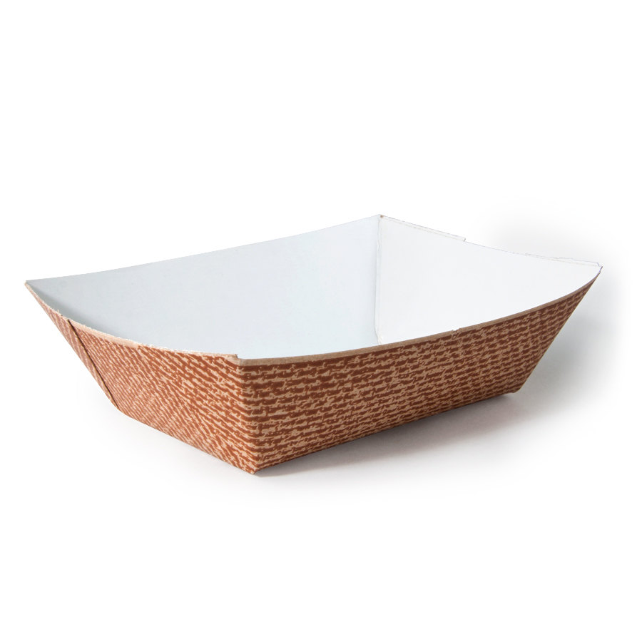 paper food trays Made of heavy duty paper, these food trays are recyclable, compostable, and biodegradable choose between white with a grease-proof coating inside or natural kraft.