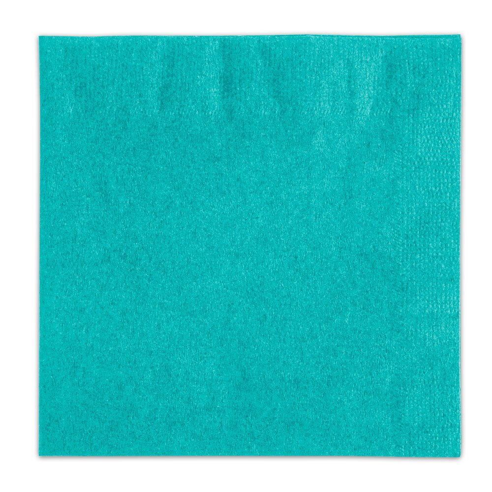 Choice Teal Beverage / Cocktail Napkin - 250 / Pack