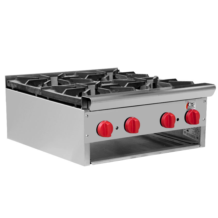 ... CPG-HP-4-24C 4 Burner Countertop Hot Plate - 120,000 BTU at Sears.com