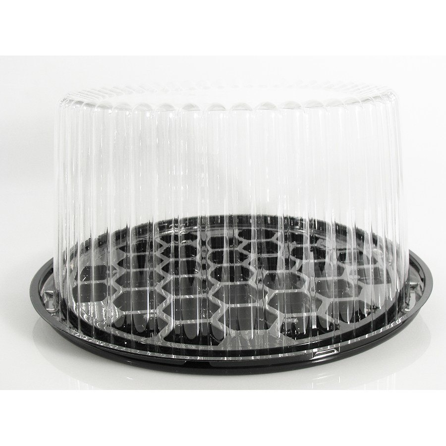 Wilkinson G23 8 1/4 inch Cake Tray / Lid Display Container 100 / Case