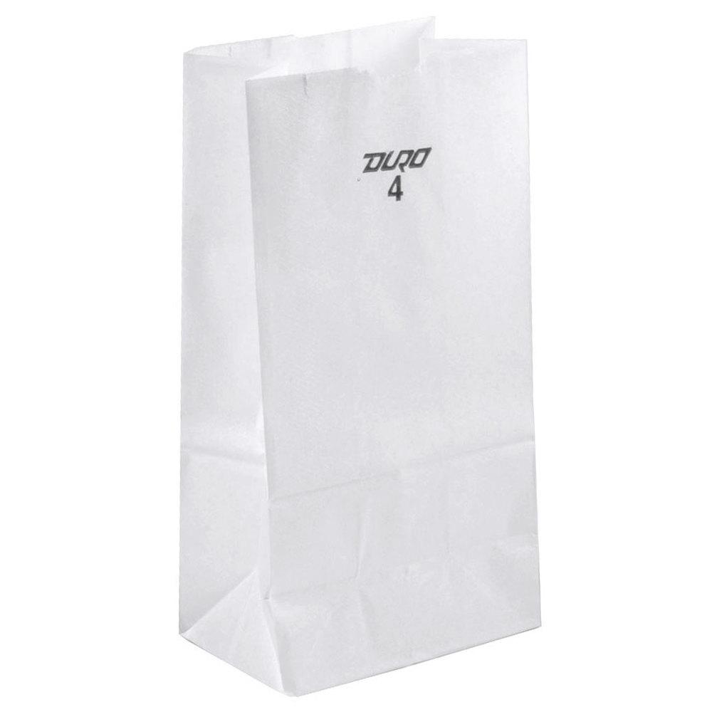 White Paper Bag 500undle White Paper Bag