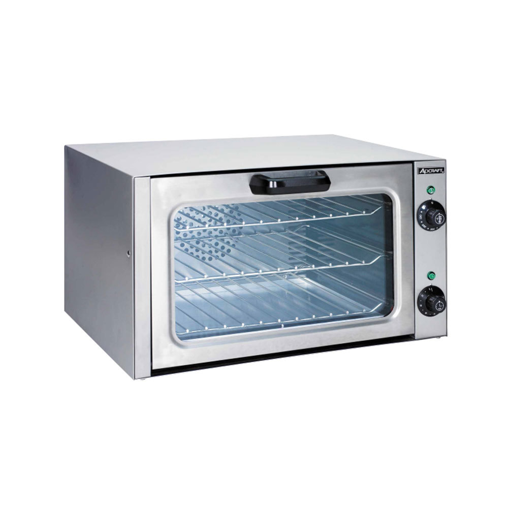 Adcraft COQ-1750W 1/4 Size Convection Oven - 120V, 1750W