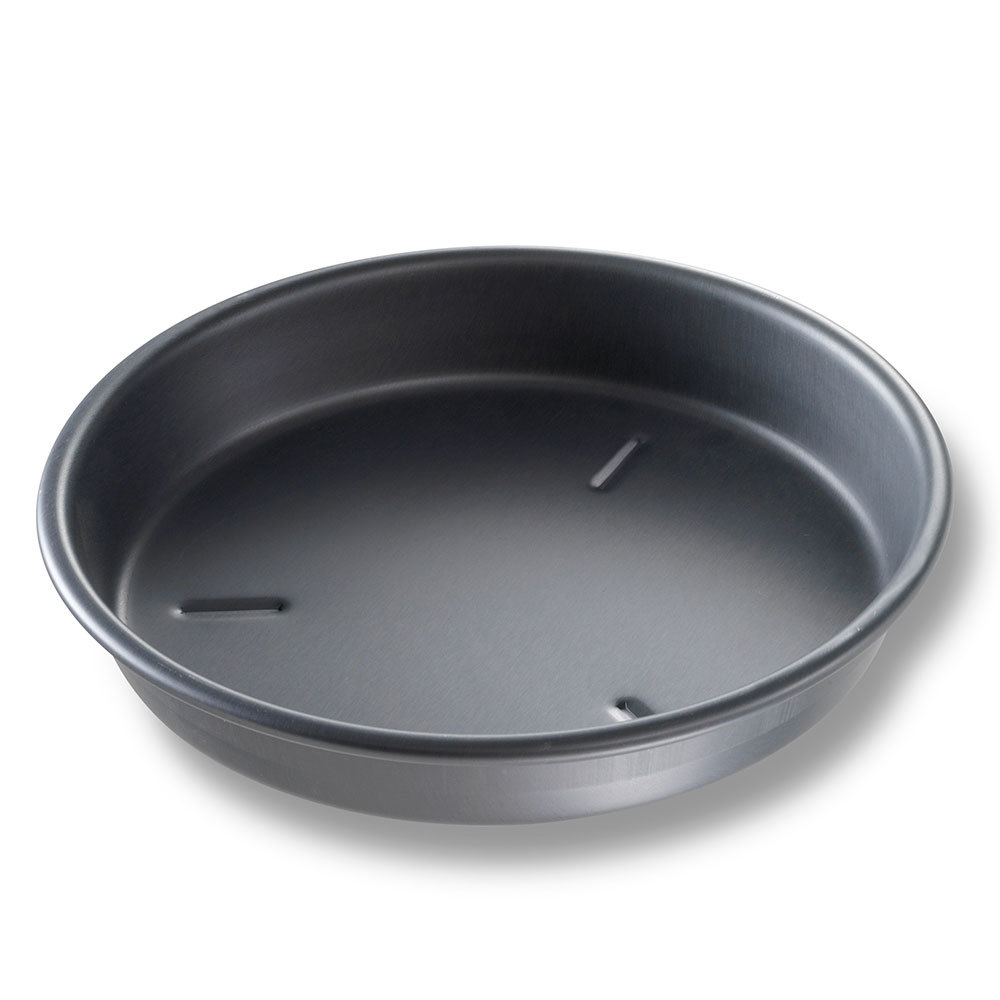 "Chicago Metallic 91095 9"" x 1 1/2"" BAKALON Pre-Seasoned Aluminum Deep Dish Pizza Pan at Sears.com"