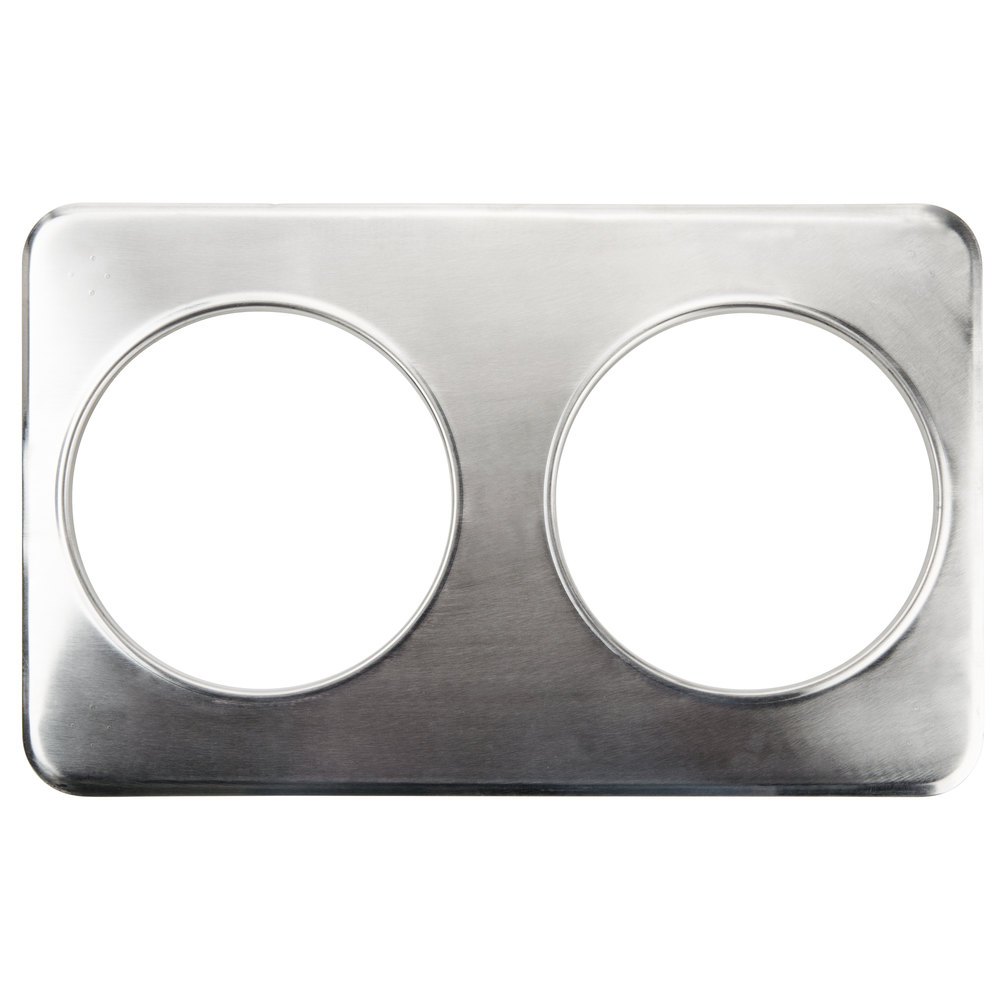 "2 Hole Adapter Plate with 8 3/8"" Openings"