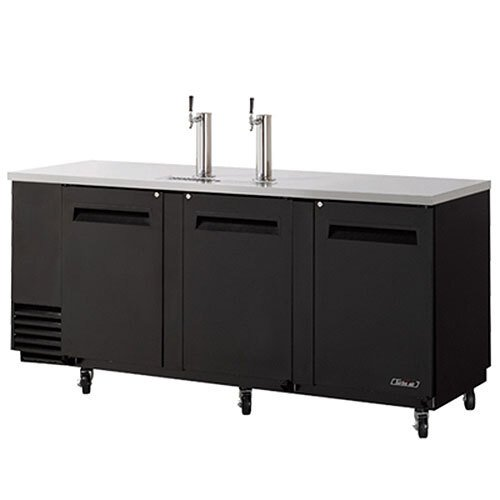 "Turbo Air Refrigeration Turbo Air TBD-4SB Black 90"" Beer Dispenser - 4 Kegs at Sears.com"
