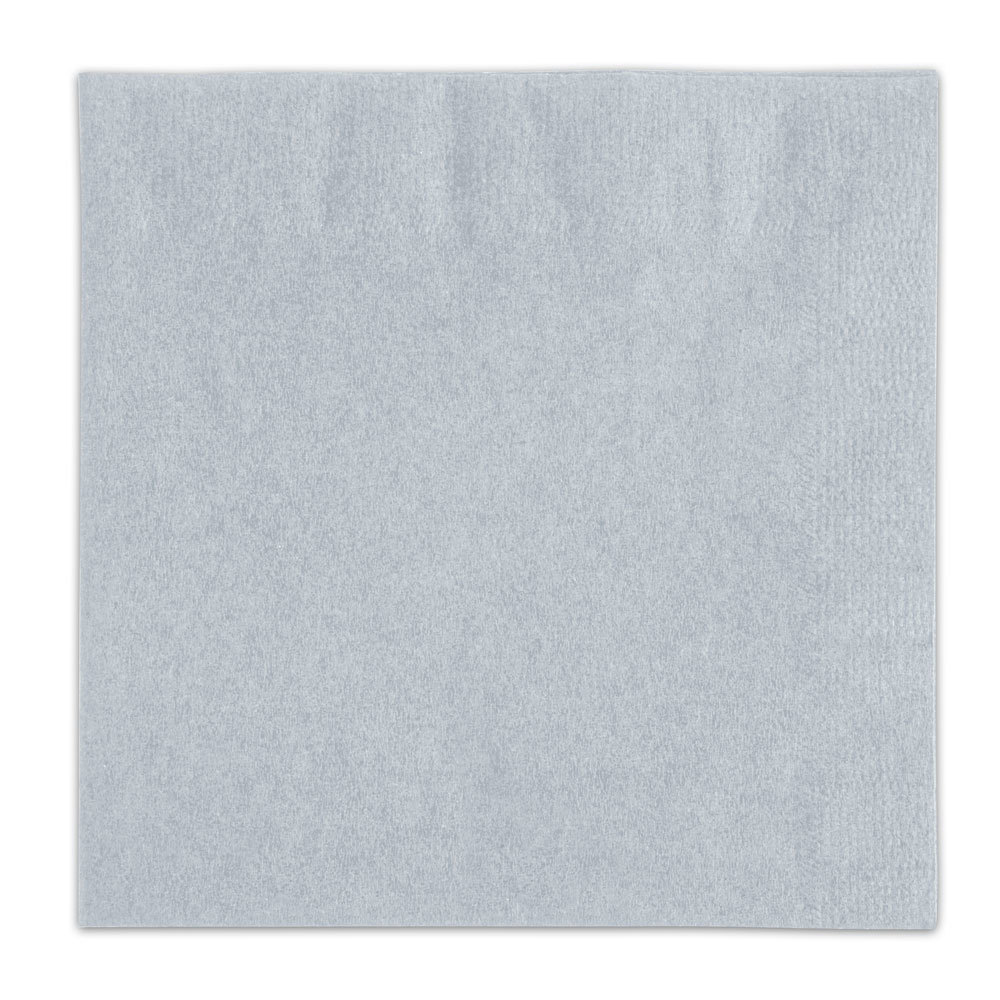 Choice Gray Beverage / Cocktail Napkin - 250 / Pack