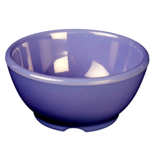 "Purple 10 oz. Melamine Soup Bowl, 4 5/8"" - 12/Case"