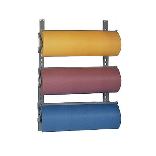 "Bulman T292-9 9"" Horizontal Three Paper Roll Wall Rack"