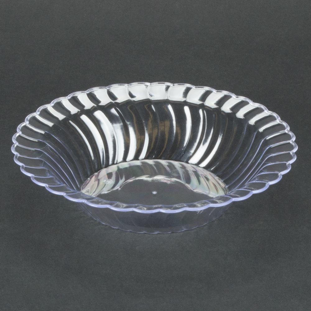 Fineline Flairware 212-CL Clear 12 oz. Plastic Bowl - 7 1 ...