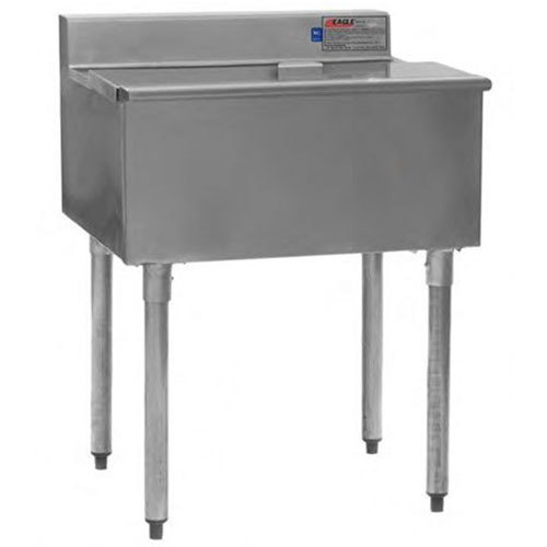 "Eagle Group B2IC-16D-18-7 1800 Series 24"" Ice Chest with Post-Mix Cold Plate - 125 lb. Capacity"