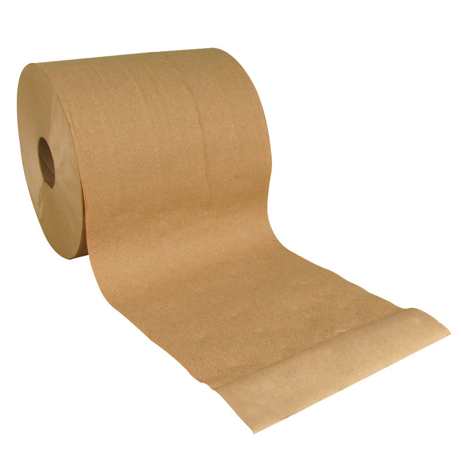 Lavex Janitorial 800 39 Brown Hardwound Roll Paper Towel 6 Case